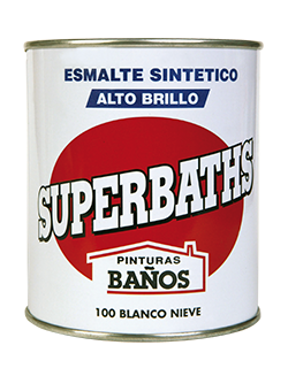 SUPERBATHS ESMALTE SINTETICO ALTO BRILLO 750ML