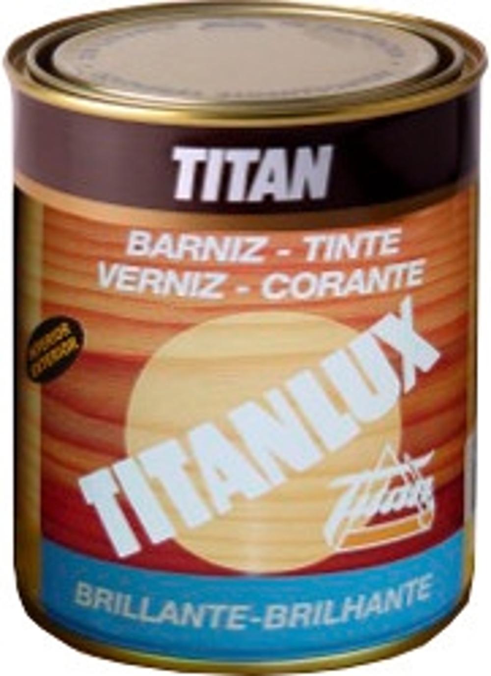 BARNIZ TINTE BRILLANTE TITAN 375ML